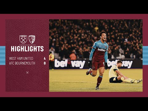 EXTENDED HIGHLIGHTS | WEST HAM UNITED 4-0 AFC BOURNEMOUTH