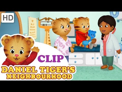 Daniel Tiger - Getting X-Rays at the Doctor's Office