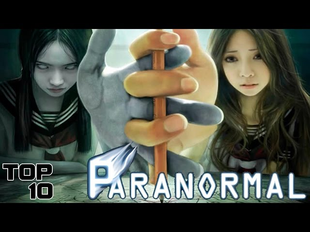 Top 10 Paranormal Games  You Shouldn't Play - Update