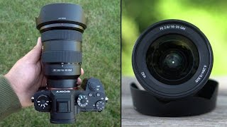 Sony 16-35mm F2.8 GM lens Revi…