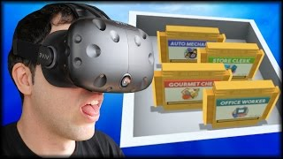 ALLES IN GOLD !!! und JETZT? :( | Job Simulator - HTC Vive Virtual Reality