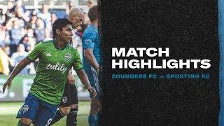 HIGHLIGHTS: Sporting Kansas City vs. Seattle Sounders