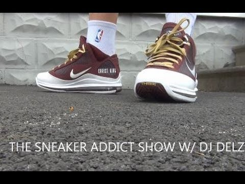huge discount 7a068 e85a1 Nike Lebron 7 Christ The King CTK VII Sample Sneaker Review + On Feet W    DjDelz
