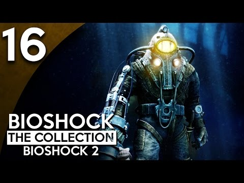 Let's Play BioShock 2 Remastered Part 16 - Plaza Hedone [BioShock Collection Blind Gameplay]