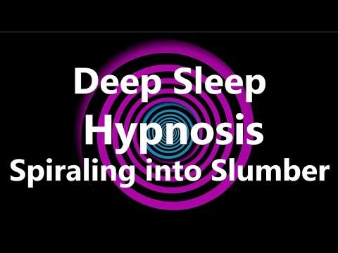 Deep Sleep Hypnosis Spiraling into Slumber