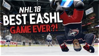 NHL 18: THE BEST EASHL GAME OF ALL TIME?!