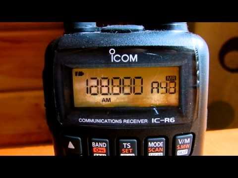 icom vhf air band transceiver ic a6 manual