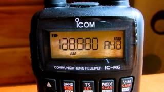 icom ic r6 communications receiver