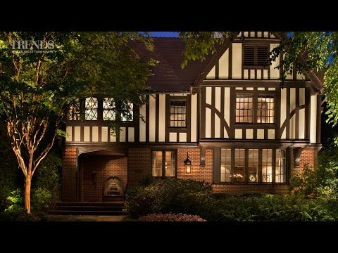 Historic Atlanta home reconstructed in its original Tudor style