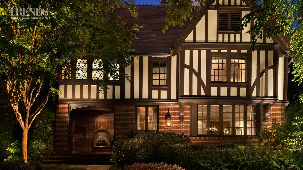 Historic Atlanta Home Reconstructed In Its Original Tudor