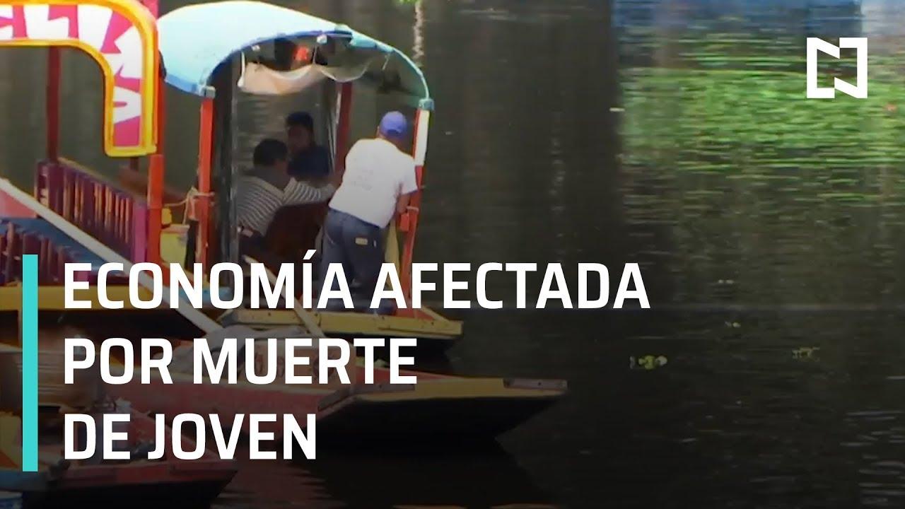 Remeros de Xochimilco se burlan | Economía de Xochimilco afectada por muerte de joven - En Punto