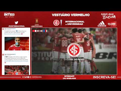 AO VIVO Inter x Universidad Católica - Grupo E/Libertadores 2020