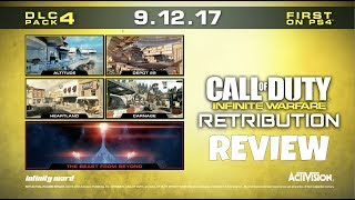 Infinite Warfare DLC 4: RETRIBUTION Map Pack Review (CoD:IW)