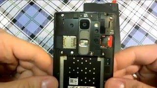 Ремонт телефону LG H 422. Заміна дисплея.