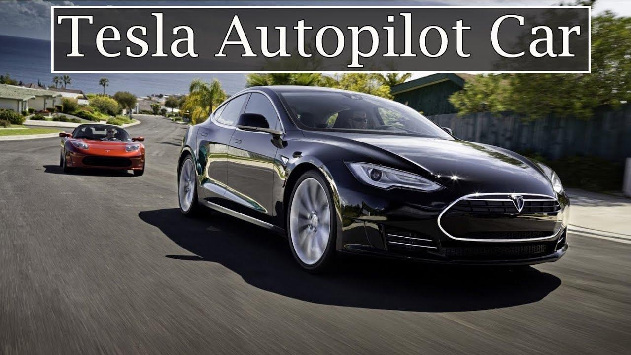 Tesla Roadster Auto Pilot Car || How does an Electric Car Tesla work ...