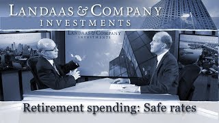 Retirement spending: Safe rates