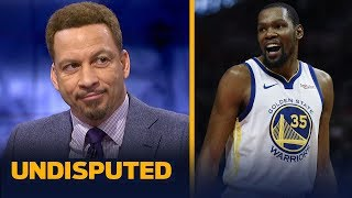 Kevin Durant is 'unguardable' & needs to stop limiting himself - Chris Broussard | NBA | UNDISPUTED