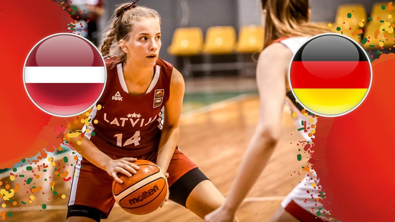 Latvia v Germany - Class Game 9-10 - Full Game