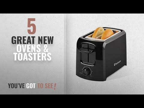 Top 10 Toastmaster Ovens & Toasters [2018]: Toastmaster TM-24TS 2-Slice Cool Touch Toaster, Black
