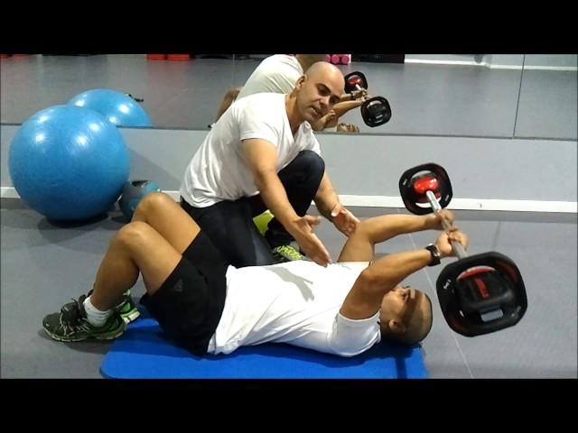 אימון לחיטוב הזרוע האחורית