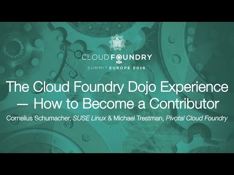 The Cloud Foundry Dojo Experience — How to Become a Contributor