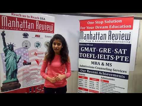 MS Admission Services - Manhattan Student Testimonial | Supriya
