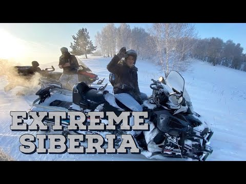 SNOWMOBILING IS PAINFUL! #Sport#Russia#siberia
