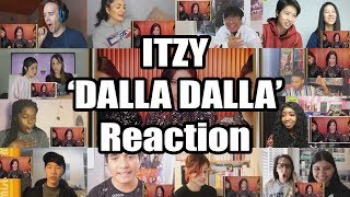 "ITZY ""달라달라(DALLA DALLA)"" M/V TEASER ""Reaction Mashup"""