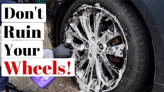 Acidic Wheel Cleaners Are DANGEROUS | Here's When I Hate Them!