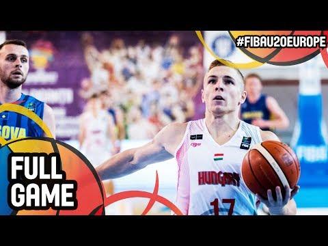 Hungary v Kosovo - Full Game - FIBA U20 European Championship 2017 - DIV B