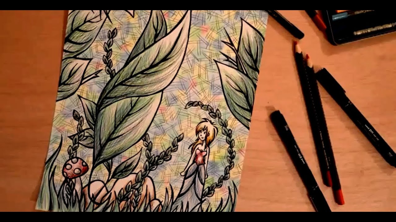 dessin crayons de couleur when i fell in love youtube. Black Bedroom Furniture Sets. Home Design Ideas