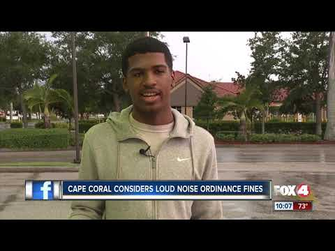 Cape Coral To Vote On Noise Ordinance