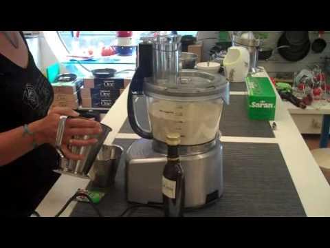 deeg maken in keukenmachine