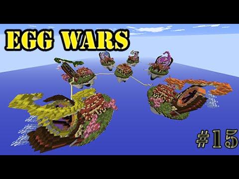 EGG WARS CUBECRAFT MINECRAFT PVP / LOS DOS SUPERCAMPEROS