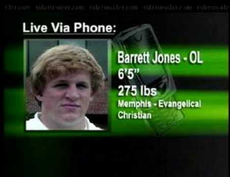 Barrett  Jones Radio Inteview