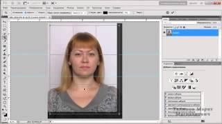 Как сделать фото на документы в фотошопе1