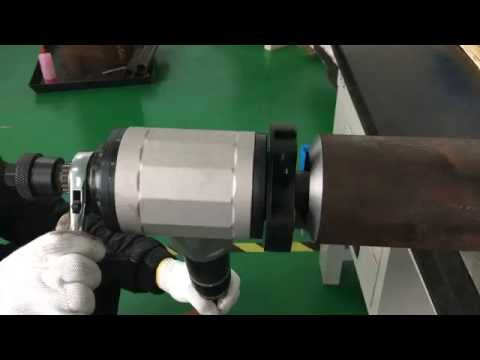 """4"""" portable pipe beveling machine comes from Nodha Industrial"""