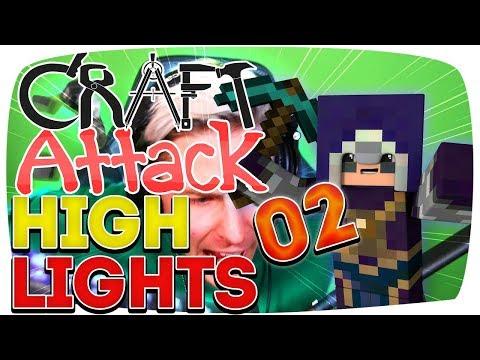 Rewi rastet komplett aus! - Craft Attack Highlights #02
