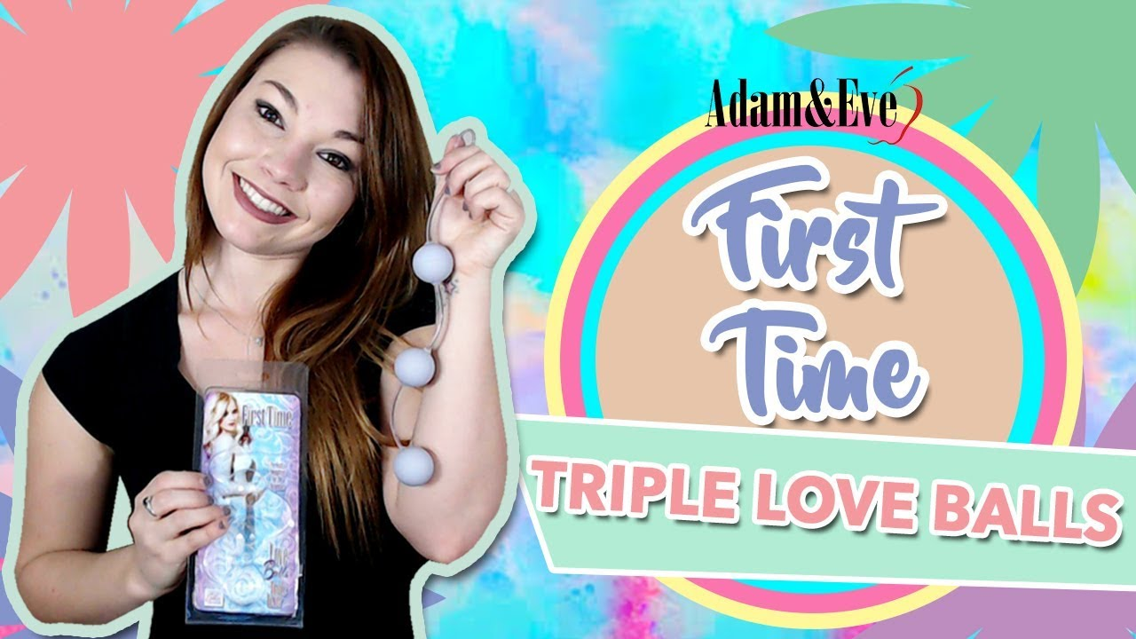 Using Ben Wa Balls For The First Time | First Time Triple Love Balls | Kegel Balls Review