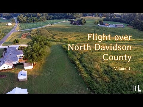 Flights over North Davidson County - Volume 1
