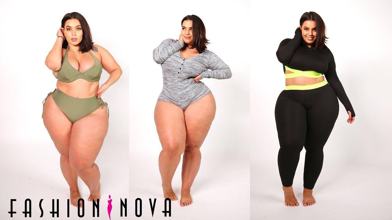5ba180e0520 AllHailKingSteph Fashion Nova Curve Fall Haul - YouTube