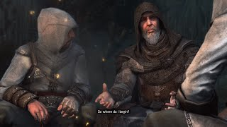 Assassin's Creed Revelations PS4 - 76 Year Old Altair Returns To Masyaf (The Mentor's Return)