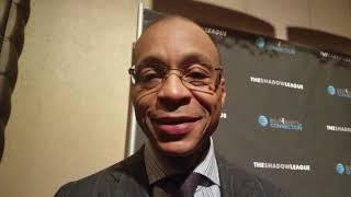 Gus Johnson says Isiah Thomas is his hero at awards ceremony