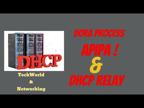 DHCP! DORA! APIPA ! DHCP RELAY AGENT  ( HINDI )