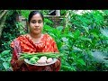 Vegetable Recipe: Drumstick, Eggplant & Potatoes Curry Village Cooking Recipe by Village Food Life
