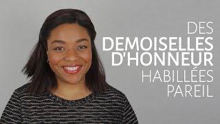 Convaincre tes demoiselles d'honneur de s'habiller pareil [Dentelle TV #19]