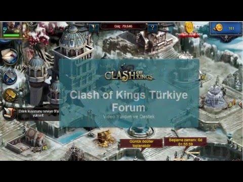 Clash Of Kings Davet Kodu Ile Altın Kazan