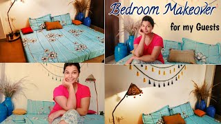 (Super Stylish) Small Bedroom Makeover || DIY Rental Friendly Decor || Budget Decor  Ideas