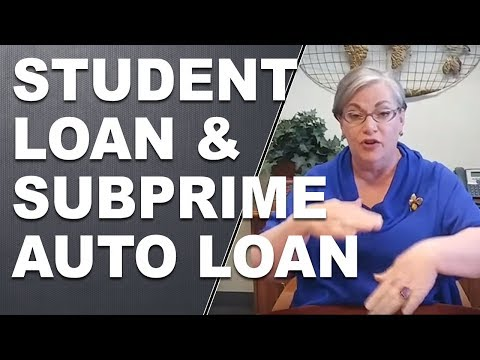 Defaults On Student Loans and Subprime Auto Loans  4-18-2017