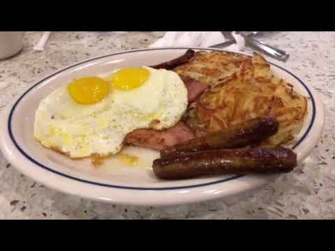 Breakfast At IHOP Atlanta Airport After United Airlines Flight From SFO